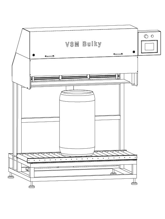 VSM Bulky XL für Vakuumierung von Zwiebelfässern