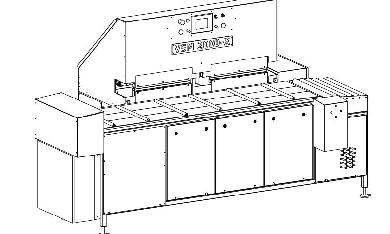 VSM 2000-X für Verpacken unterschieldicher Käse-Chargen